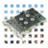 Videos Surveillance and Imaging: Multi-channel video capture / H.264 encoding board - Matrox Morphis-Evo for digital video recording applications
