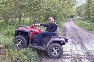 Turkish Businessman, Two Years Without a Human Heart, Goes Four-Wheeling