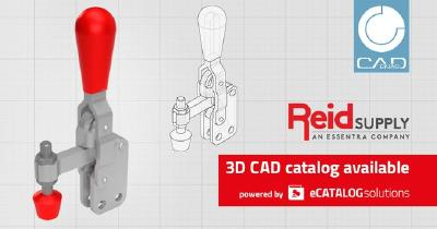 Reid Supply launches online catalog with interactive 3D preview, configurable PDF datasheets and CAD downloads in 150+ formats