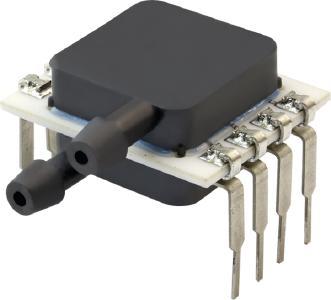 PPCP3 Serie: Kapazitiver MEMS Niederdrucksensor mit sehr hoher Überdruckfestigkeit