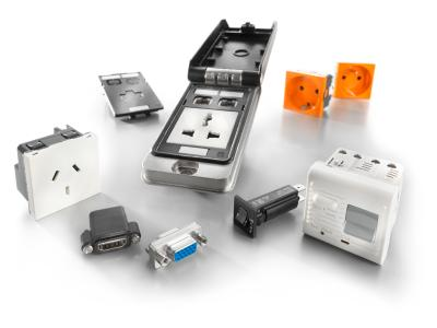 Weidmüller FrontCom® Vario: Weidmüller has expanded its existing product range to include various new inserts such as VGA, HDMI and additional sockets