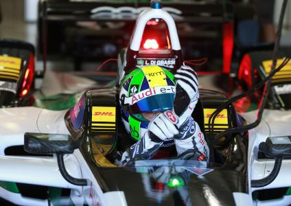 FIA-Formel-E-Weltmeister Lucas di Grassi im Audi e-tron: Für ihn gilt es, den Weltmeistertitel zu verteidigen / Bildquelle: AUDI AG