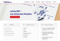 Relaunch der Unternehmenswebsite von Avista ERP bringt viele neue Besucher - www.avista erp.de
