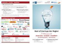 [PDF] Pressemitteilung: Die besten Startups werden wieder gesucht