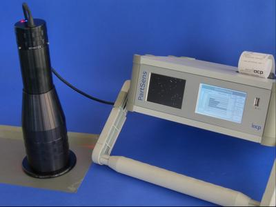 The new measuring probe for the PartSens inspection system is equipped with optical filters. This results in sidelight contrast which allows for precise, reliable measurement of particulate cleanliness even under difficult conditions.