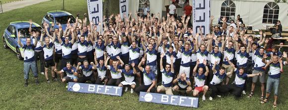 BFFT-Team at the Triathlon Ingolstadt 2013
