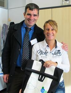 mit dem Rad zur Arbeit Gewinnerin Sandra Lederle
