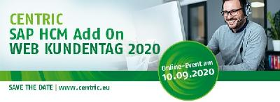 Centric SAP HCM Add On Web Kundentag 2020