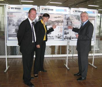 Dipl.-Kfm. Achim Hager, Dipl.-Kffr. Jasmine Scholl und OStD Reinhard Dreher (von links)