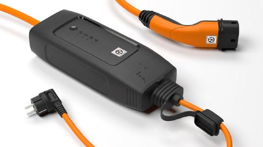 Image 1: Nominated for the German Design Award: The Mode 2 charging system with IP-CPD from the Lapp Group