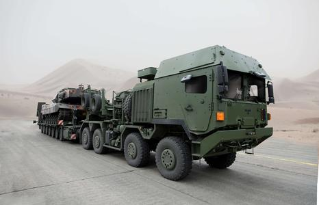 RMMV supplies the Bundeswehr with protected HX 81
