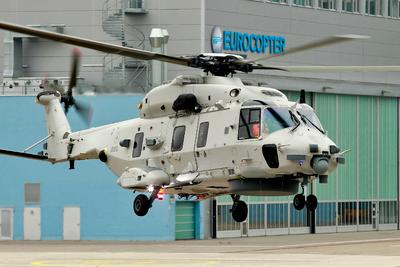 Belgium receives its first NH90 Naval Helicopter
