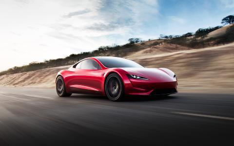 Tesla Roadster, Bildrechte: Tesla