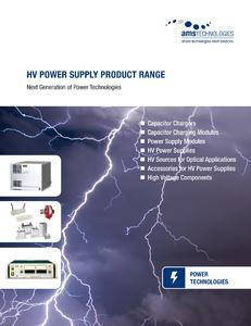High Voltage Power Supply Product Range