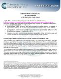 [PDF] Press Release: Caledonia Mining Corporation Plc Q2 2020 Production (NYSE AMERICAN & AIM: CMCL)