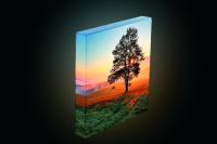Der Verzicht auf sichtbare Träger bzw. Schienen verstärkt den dreidimensionalen Effekt / Bild: Hinrichs Licht+Druck