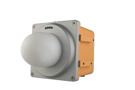 The Symeo LPR-1DHP using 61GHz radio waves: maximum reliability and precision across up to 500 metres