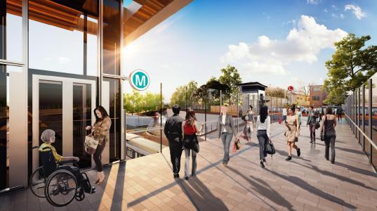 thyssenkrupp liefert Rekordzahl von Aufzügen und Fahrtreppen an die Sydney Metro (Bildnachweis: thyssenkrupp Elevator)