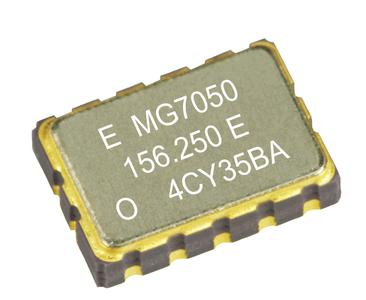 A low-jitter, multiple-output SAW oscillator in the MG7050 series