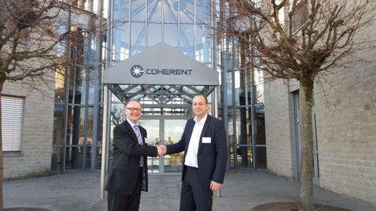 LaserForum 2015 bei Coherent in Göttingen mit positiver Resonanz