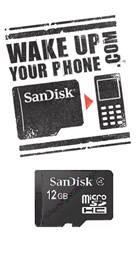 Die microSDHC wächst jetzt auf 12 GB an