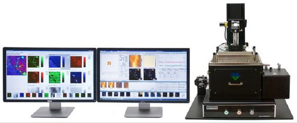 Molecular Vista develops and sells a specialized AFM instrument called VistaScope with Infrared Photo induced Force Microscopy (IR PiFM), which provides nanoscale imaging & spectroscopy.