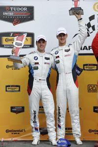 Dirk Müller, John Edwards, BMW Team RLL, Road America, Podium