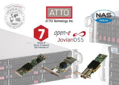 ATTO besteht Kompatibilitätstest für Open-E-Betriebssysteme