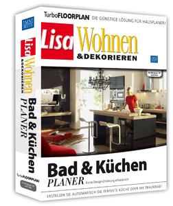 TurboFLOORPLAN Bad- & Küchenplaner - Boxshot