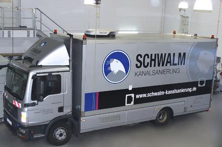 Schwalm Fahrzeugflotte im neuen Design
