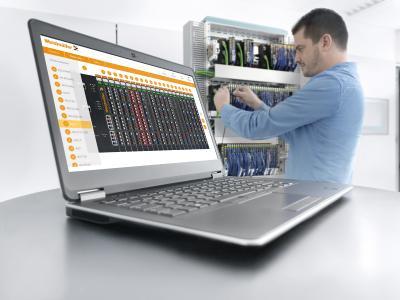 Mit Hilfe des integrierte Webservers lassen sich die Koppler besonders schnell und komfortabel konfigurieren / Bildquelle: Weidmüller