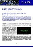 [PDF] Pressemitteilung: Z-LASER präsentiert neuen Laserprojektor auf der JEC World Composites Show 2016 in Paris