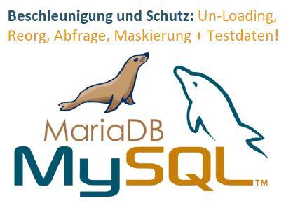 Die Lösung für zeitaufwendige Arbeiten mit MariaDB und MySQL: · Datenermittlung: Profilerstellung, Klassifizierung, ERDs · Be- und Entladen großer Tabellen · Routinemäßige Versorgungsoperationen (Reorgs) · Komplexe Abfragen · Migration oder Replikation · Maskierung sensibler Daten · Generierung intelligenter und sicherer Testdaten