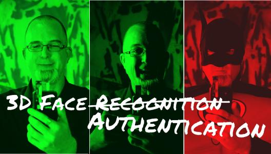 3D Face Authentication for mobile