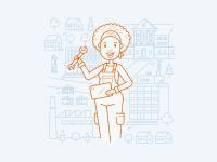 Illustration zum Thema Werkzeuge des Wandels
