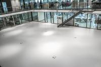 Das Remmers Bodenbeschichtungs-System verleiht dem Design-Center der Rabe Fashion Group einen funktionalen und zugleich ansprechenden Bodenbelag, Bildquelle: Remmers, Löningen