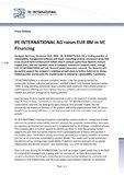 [PDF] Press release: RNATIONAL AG raises EUR 8M in VC Financing