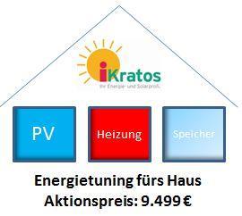 Energietuning für Haus