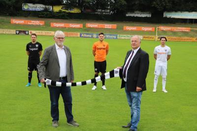 Gigaset wird Werbepartner beim 1. FC Bocholt