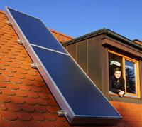 Solarluft Foerderung