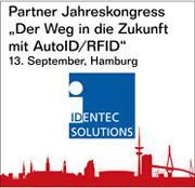 """Identec Solutions auf dem Jahreskongress """"Der Weg in die Zukunft mit AutoID/RFID"""" in Hamburg"""