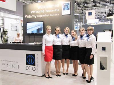 Interpret GmbH   Premium Hostessen Team im Einsatz für ECO Schulte GmbH