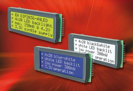 Klare Sache: Alphanumerisches Display mit hohem Kontrast