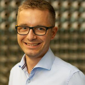 Sten Döhler, Wissenschaftlicher Mitarbeiter am Sächsischen Textilforschungsinstitut e.V. (STFI), Quelle: STFI/Falko Schubert