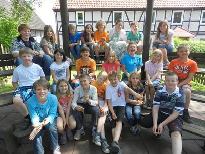 Siegerteam der Grundschule Am Kump
