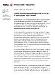 [ PDF] Pressemitteilung : Urteile des Bundesarbeitsgerichts (BAG) zu Klagen gegen Agfa-Gevaert