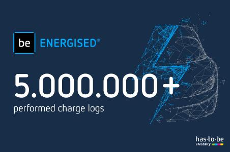 Charging to Success: be.ENERGISED Hits 5 Million Charges!