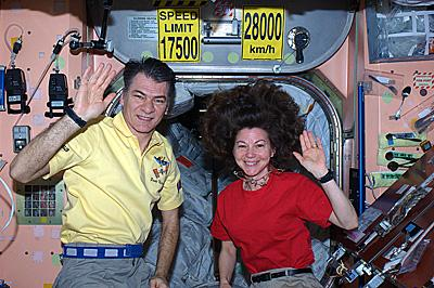 Watch live: Paolo Nespoli and Cady Coleman at ESA/ESRIN
