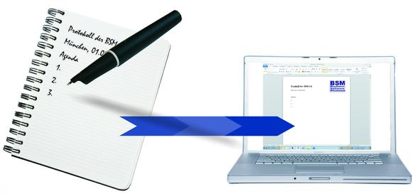Er unterscheidet sich optisch kaum von einen 'normalen' Kugelschreiber. Der PxDigiStift schreibt wie gewohnt auf Papier. Eine Minikamera schreibt bzw. liest mit und sendet die Daten an den PC zur Weiterverarbeitung. Das Schreiben von Protokollen wird immens vereinfacht, die Daten können wie gewohnt in der Textverarbeitung weiterverarbeitet werden.