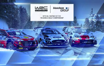 bluechemGROUP is Official Partner of the FIA WRC